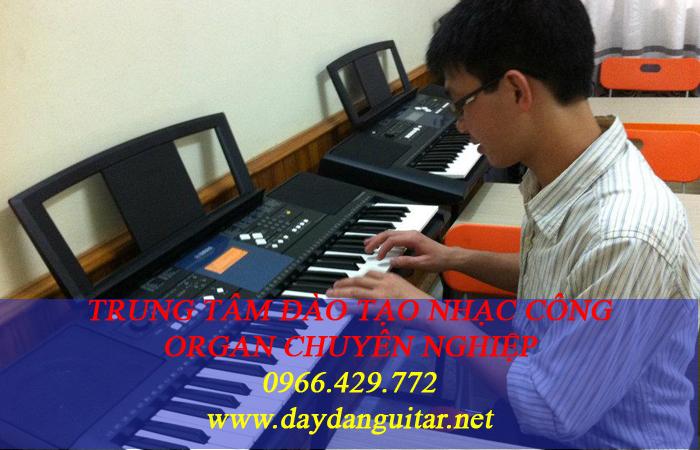dạy đàn organ, nhạc công đám cươi bao ra nghề