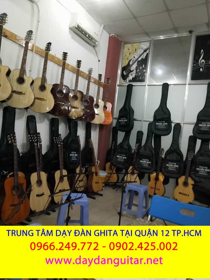 dạy đàn guitar giá rẻ quận Gò vấp