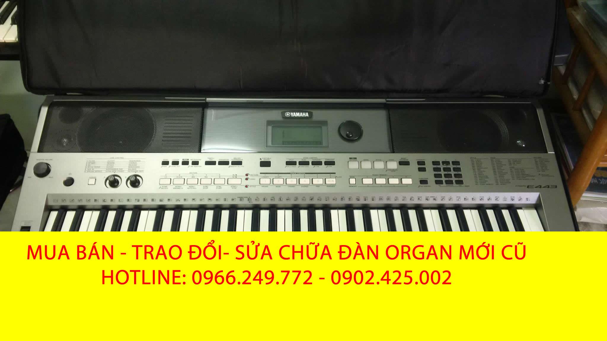 bán đàn organ psr e453 mơi giá rẻ