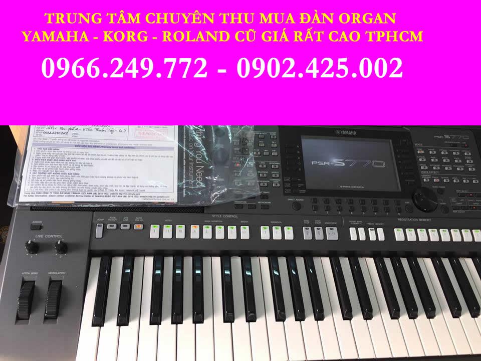mua bán trao đổi đàn organ cũ, đã qua sử dụng cà mau